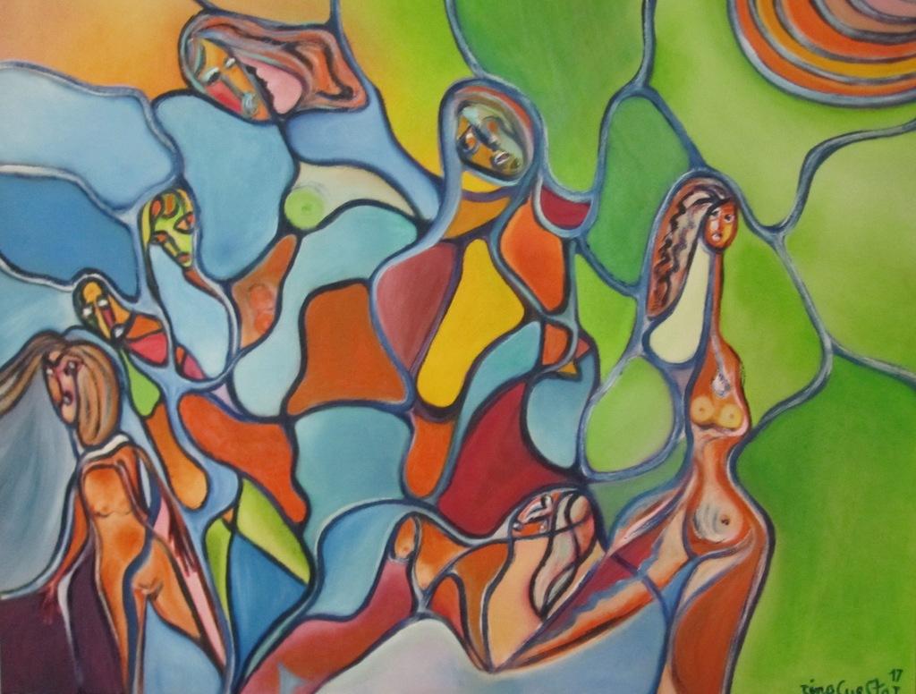 1. Laberinto de mujeres (óleo100x80)